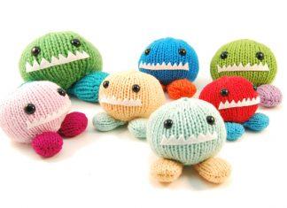 Amigurumi Monster Chunks Toy Free Knitting Pattern