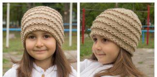 Easy Beanie Hat Free Knitting Pattern