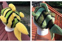 Knit Fish Hat Free Knitting Patterns