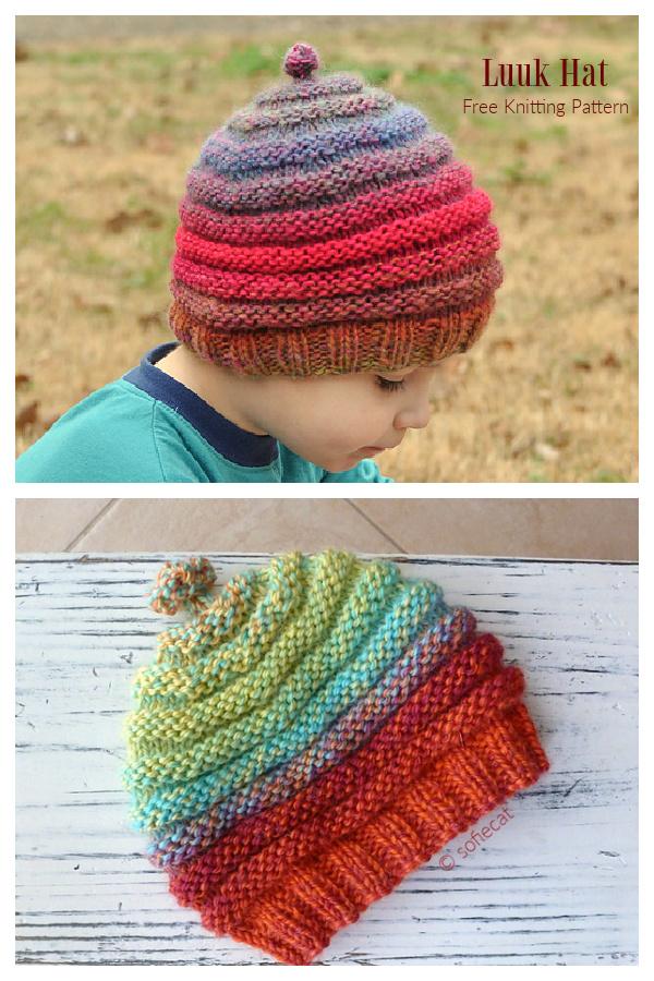 Luuk Hat Free Knitting Patterns