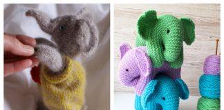 Amigurumi Little Baby Elephant Free Knitting Pattern