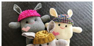 Amigurumi Little Monster Free Knitting Pattern