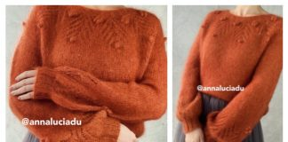 Autumn Dream Pullover Sweater Free Knitting Pattern
