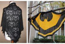 Bat Shawl Free Knitting Patterns