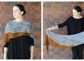 Billow Shawl Free Knitting Pattern