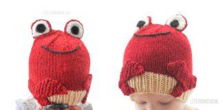 Knit Baby Crab Hat Free Knitting Patterns
