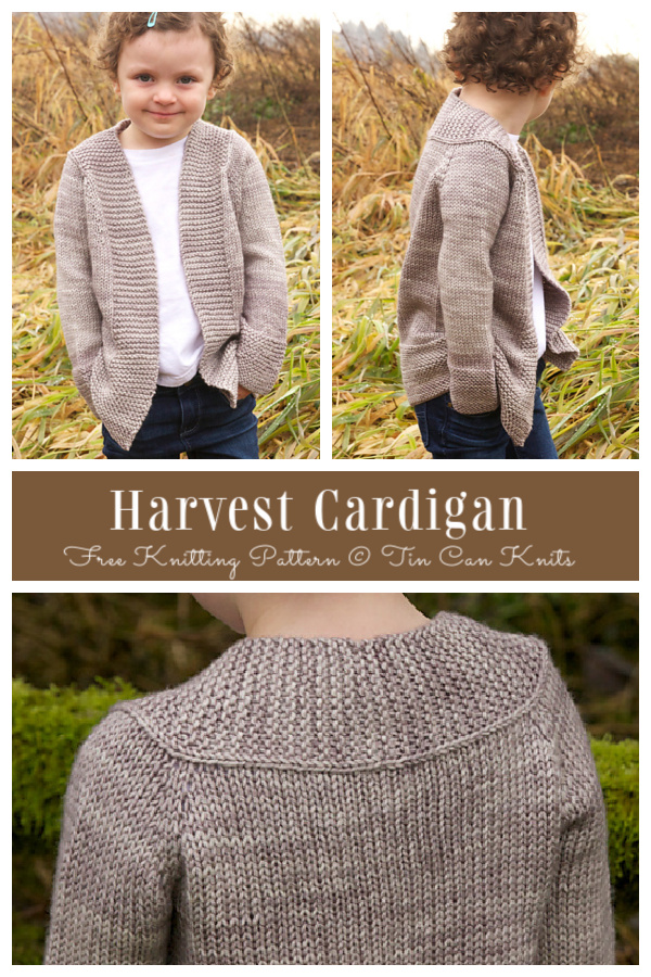 Knit Harvest Cardigan Free Knitting Pattern
