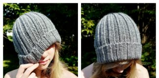 Favourite Bulky Ribbed Beanie Free Knitting Patterns