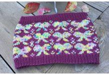 Bow Cowl Free Knitting Pattern