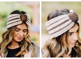 Bronwyn Chunky Headband Free Knitting Pattern