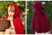 Little Red Cape Free Knitting Patterns