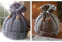 Rib-Knit Baby Hat Free Knitting Pattern