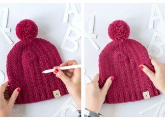 September Hat Free Knitting Patterns