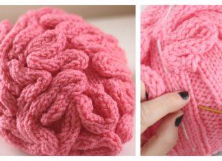 Brain Hat Free Knitting Pattern