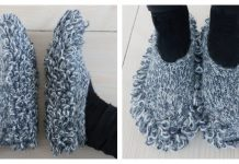 Knit Cleaning Slippers Free Knitting Pattern