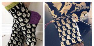 Knit Happy Haunts Socks Free Knitting Pattern