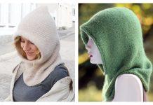 Knit Balaclava Hoodie Free Knitting Patterns