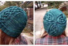 Norway Pine Hat Free Knitting Pattern